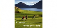 Queenstown Golfing takes in 5 championship courses