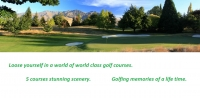 loose yourself in a world of world class golf courses